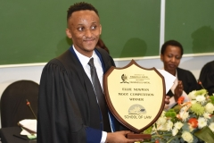 Mr Elisha Kunene - Moot Court Final 2016 Winner