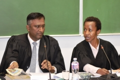 Professor Karthy Govender and Ms Lindiwe Maqutu