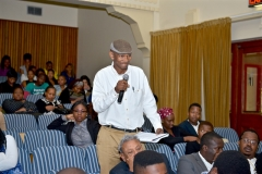 Delegates engaging with the panel 1
