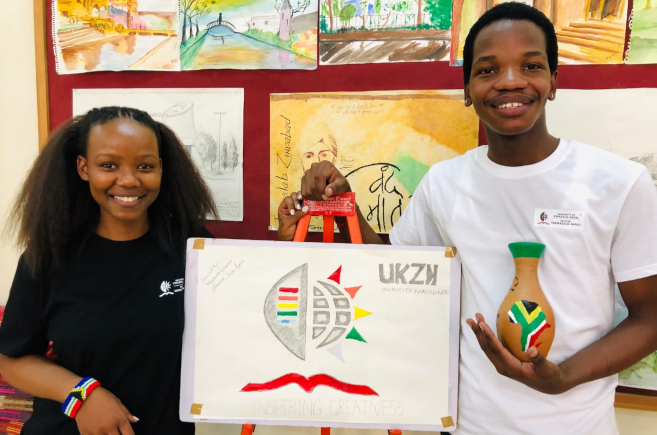 Students Represent UKZN in India