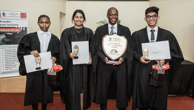 Law Students Display Legal Skills Before Judges in Moot Final