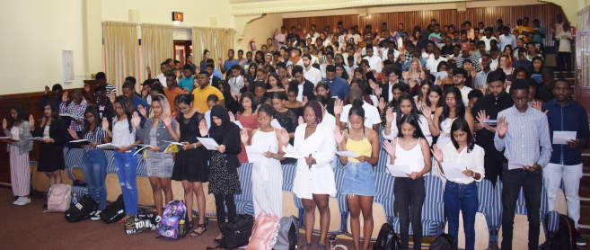 UKZN Law Students Pledge Commitment to Legal Career